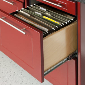 TownClose13-Drawer unit Garage Organization